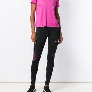 New w tags Nike Graphic Running Leggings. SzM